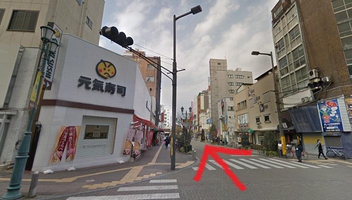 銀座カラー 宇都宮店 行き方