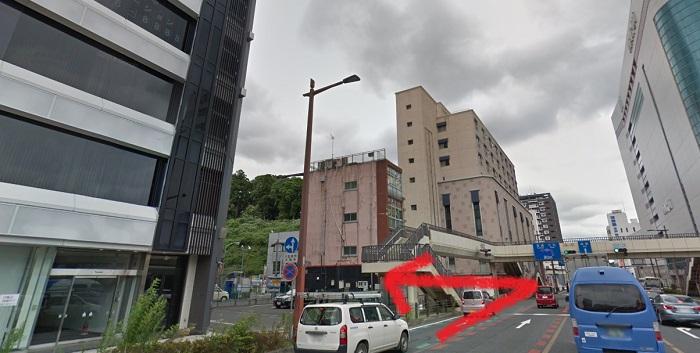 銀座カラー水戸駅前店の提携駐車場(1)ザ・パーク三の丸第1駐車場