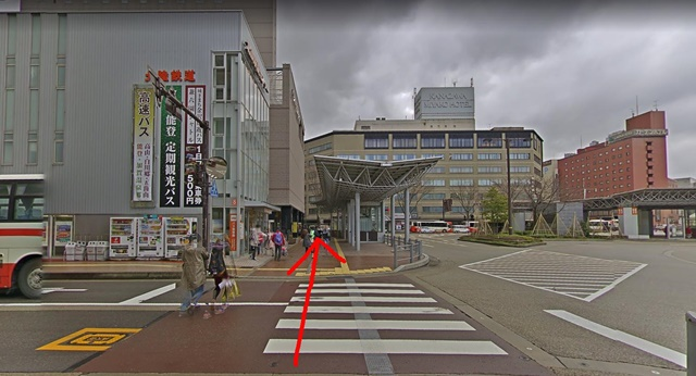 銀座カラー金沢駅前東 北鉄金沢駅センター