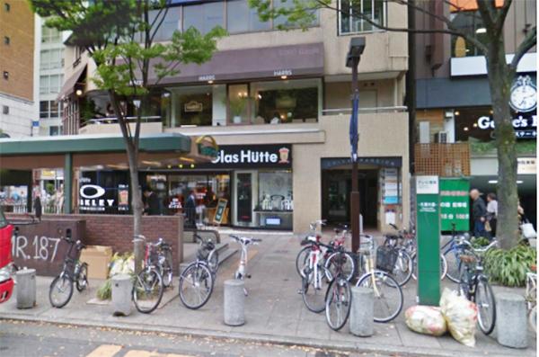 銀座カラー名古屋栄店までのアクセス