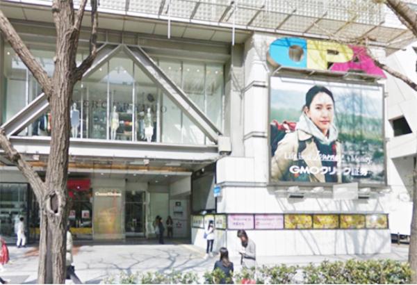 銀座カラー心斎橋店のアクセス