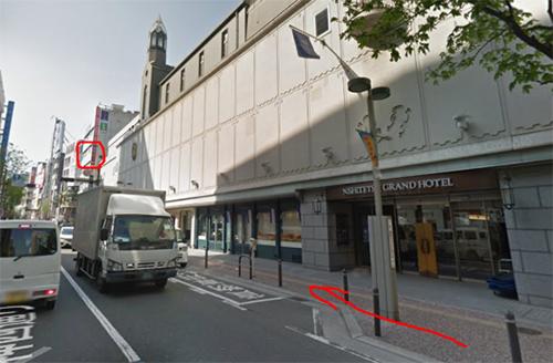 福岡国際ビルの4階に銀座カラー天神店を見つけることができます