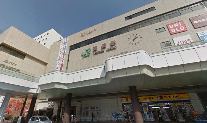 銀座カラー高崎店までのアクセス