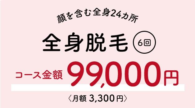 銀座カラー 月額3300円