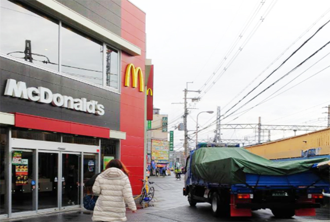 マクドナルド阪急淡路店