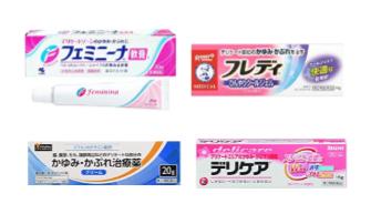 かゆみ止め薬を塗る