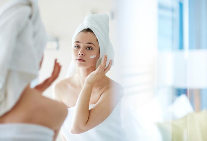 不衛生にすることによる肌のバリア機能の低下
