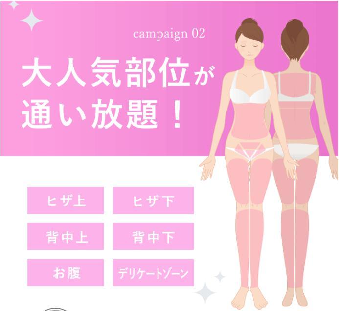 ミュゼ1960円キャンペーン