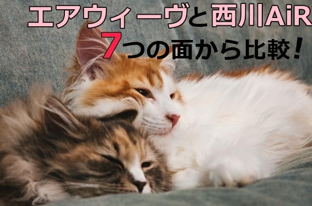エアウィーヴと西川AiR