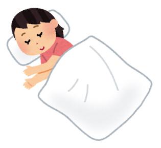 横向き寝専用枕YOKONE3は、その名前の通り横向きに寝る人にオススメ