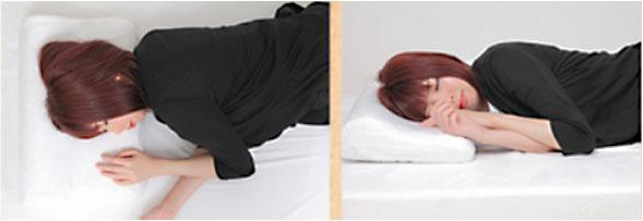 めりーさんの高反発枕は横向きで寝やすい?