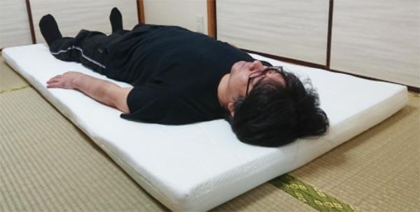 かなり柔らかい寝心地