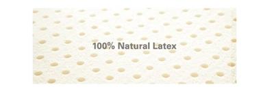 天然ラテックス100%