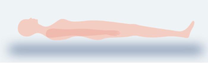 適度な反発力があり理想の寝姿勢を保てる